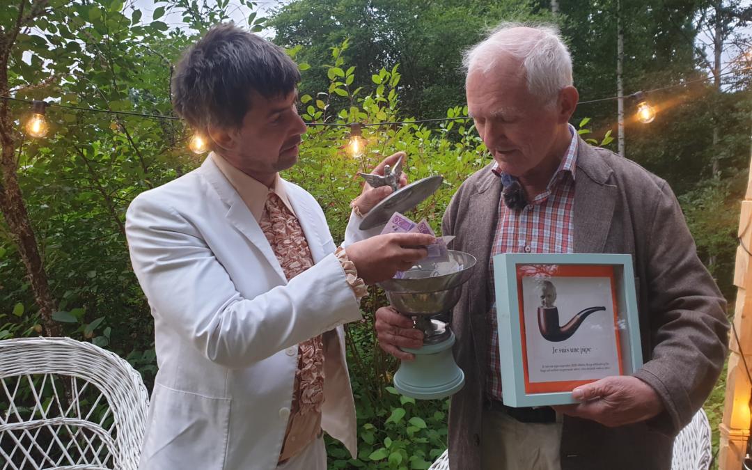 Bengt af Klintberg utsedd till årets Luftslottsstipendiat